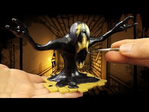 Sculpting Searcher from Bendy and the Ink Machine