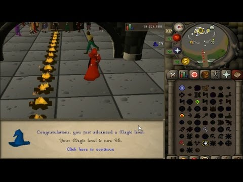 OSRS Mage training Guide 1-99 with time calculations