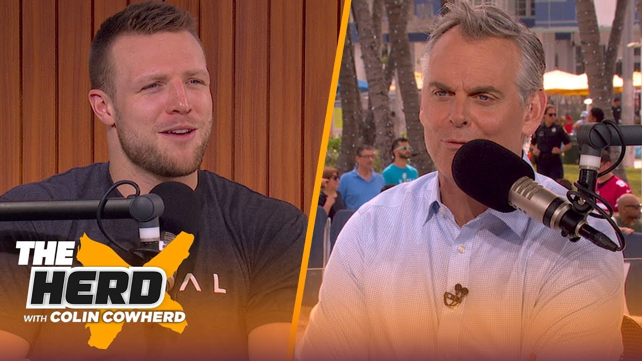 Taysom Hill: 'I'm a QB at heart,' talks Super Bowl, Saints and more | THE HERD | LIVE FROM MIAMI