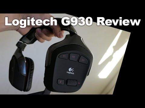 Best Selling Amazon Wireless Headset: Logitech G930 wireless Headphone Review (computer head