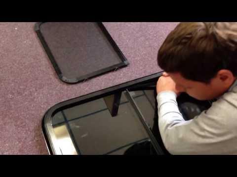 Changing a Hehr Window pane