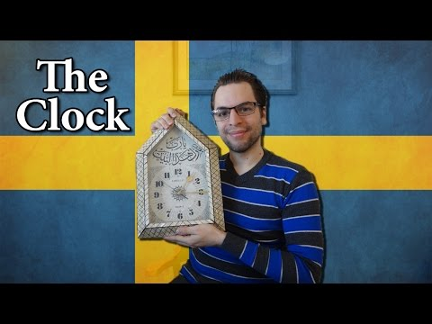 Learn Swedish | Time & Clock | Lesson 10