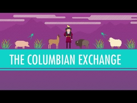 The Columbian Exchange: Crash Course World History #23