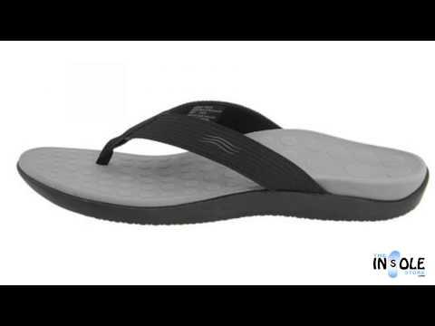 76593851d196 Vionic Women s Tide Thong Sandals at FootSmart · Vionic Orthaheel Black  Wave Sandals for Men   Women