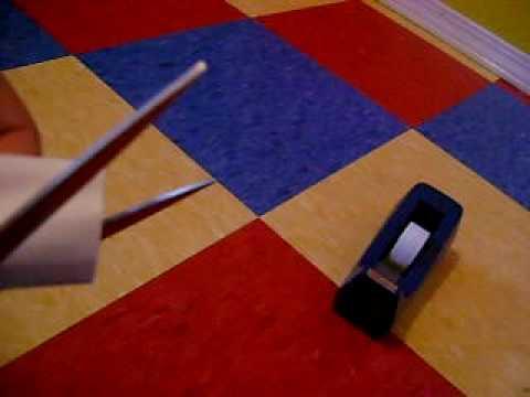 how to make a paper sword pt 1