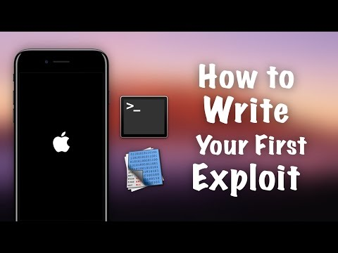 Become an iOS Hacker - How to Write Your First Exploit using Return Oriented Programming (ARM)