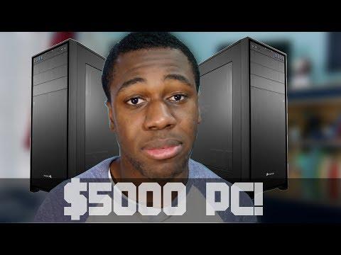 [HD] $5000 Ultimate PC Build & Setup GUIDE! - January 2014