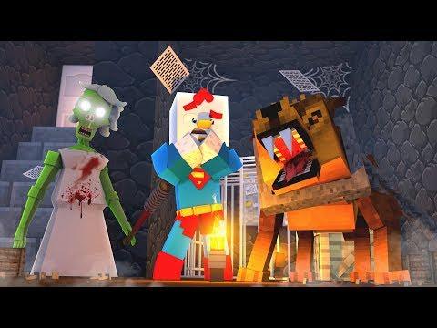 Minecraft - EVIL GRANNY'S SECRET PET?! (Granny Horror Challenge)