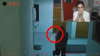 REAL GHOSTS CAUGHT ON TAPE!! (WTF)