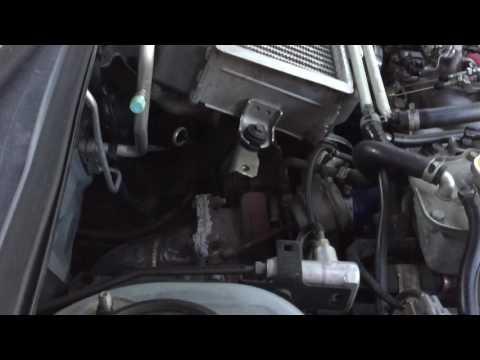 Turbo flutter on  Subaru WRX, bugeye turbo flutter