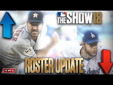 MLB The Show 18 Roster Update: Who's UP and Who's DOWN!