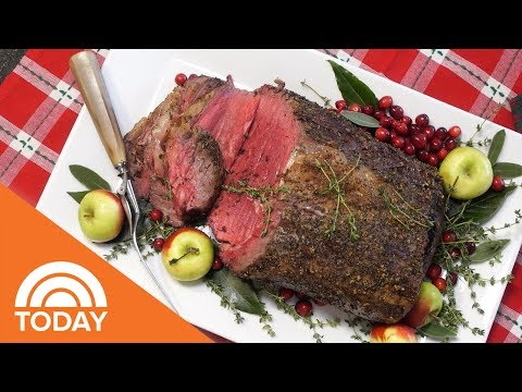 How To Make The Perfect Prime Rib Roast | TODAY