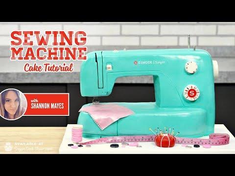 Sewing Machine Cake Promo