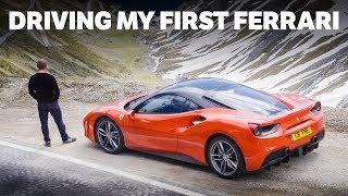 Driving My First Ferrari [4K]