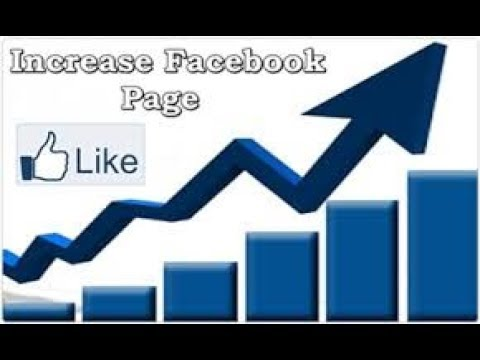 How to increase auto facebook page likes (100℅ real)