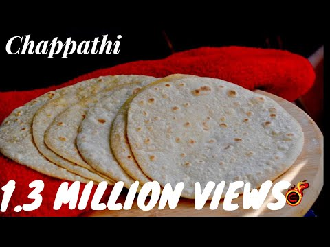 How to Make Soft Chapathi -With English Subtitles:Recipe no 57