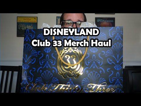 Disneyland Club 33 Merch Haul