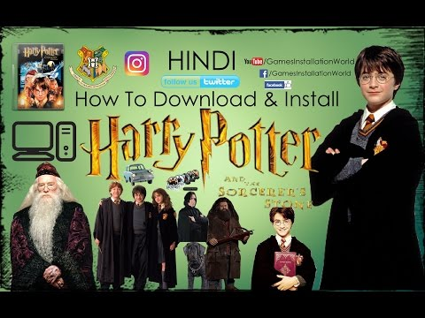 How To Download & Install Harry Potter And The Sorcerer's Stone In HINDI