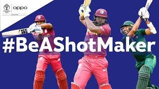 Oppo #BeAShotMaker | West Indies vs Pakistan - Shot of the Day | ICC Cricket World Cup 2019