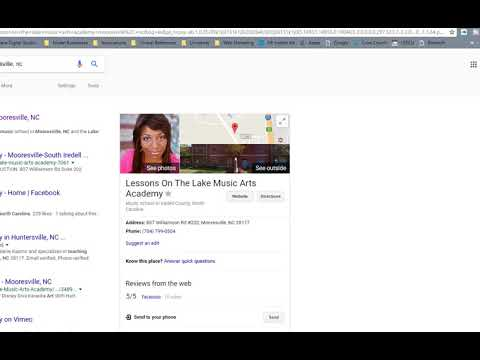 How To Get Google Reviews From Your Customers| Music Lessons in Mooresville, NC