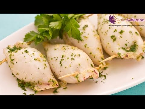 Stuffed squids - recipe