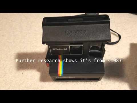 Polaroid OneStep 600 Quick Tour