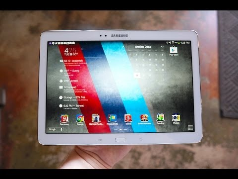 Samsung Galaxy Note 10.1 (2014) review