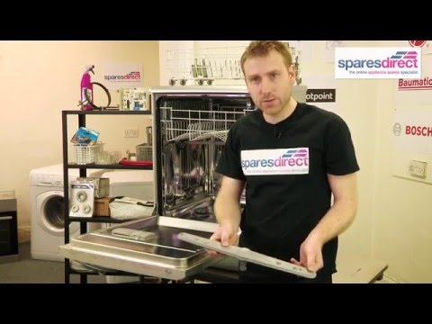 How to repair and replace Dishwasher Spray Arms | Oven Spares & Parts | 0800 0149 636