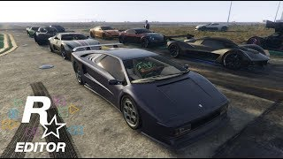 GTA 5 ONLINE | SupercarSunday DragRaces Compilation
