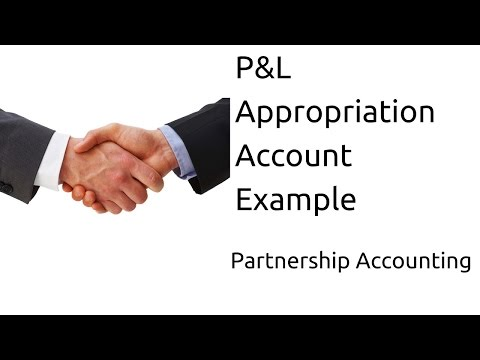 Examples of P&L Appropriation Accoun | Profit & Loss Appropriation | CA CPT | CS & CMA Foundation