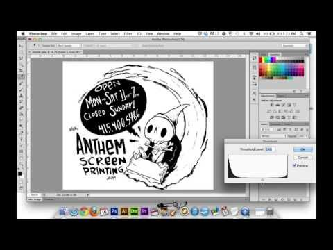 Photoshop for Screen Printing - Fundamentals