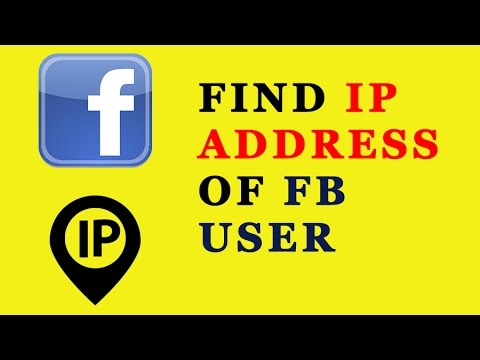 How to trace IP address of any FB user | Tutorial | 2016