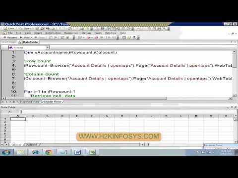 QTP Recover Scenario | Login Cases | UFT Online Tarining | QTP Tutorial