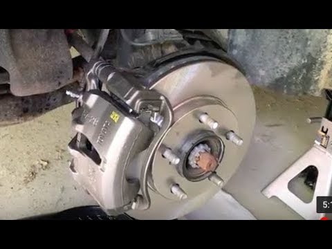 Replace Calipers on Toyota Camry/Corolla - FAST & EASY