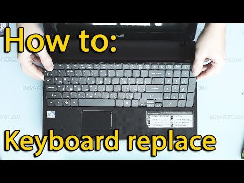 Keyboard replacement Acer Aspire 5736