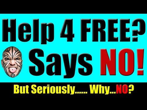 Why I Refuse To Help Anyone For Free - Loy Machedo Rant!