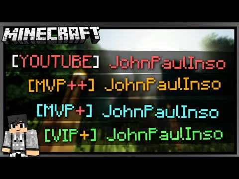 ALL NEW HYPIXEL RANKS & TAGS IN A VANILLA MINECRAFT MAP?!? | MAP DOWNLOAD