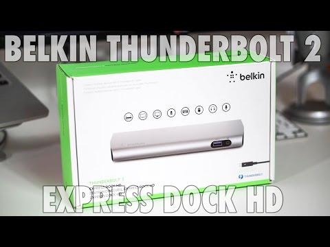Belkin Thunderbolt 2 Express Dock HD Review