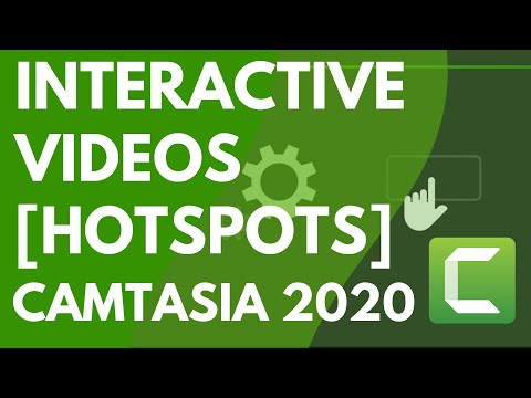 Camtasia 9/3: Add Interactive Hotspots to a Video