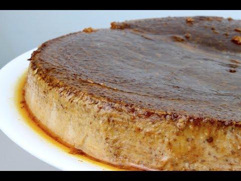 Chocolate Cream Cheese Flan