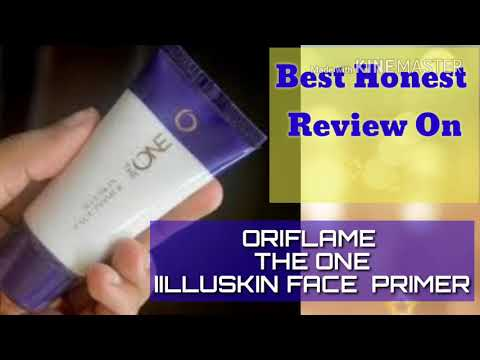 Honest review on ORIFLAME THE ONE ILLUSKIN FACE PRIMER  GLAM INDIAN GIRL