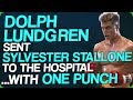 Dolph Lundgren Sent Sylvester Stallone To The Hospital With One Punch