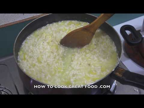 How to make Risotto Recipe - Italian Rice