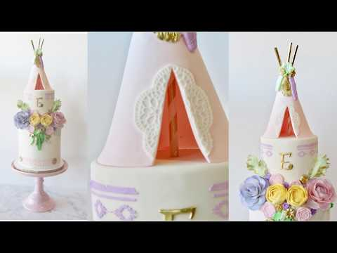 Teepee Cake Topper