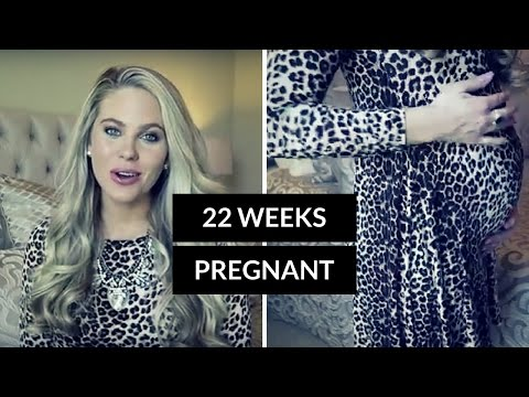 22 Weeks Pregnant (First Pregnancy) Second Trimester | Maternity & Baby Haul