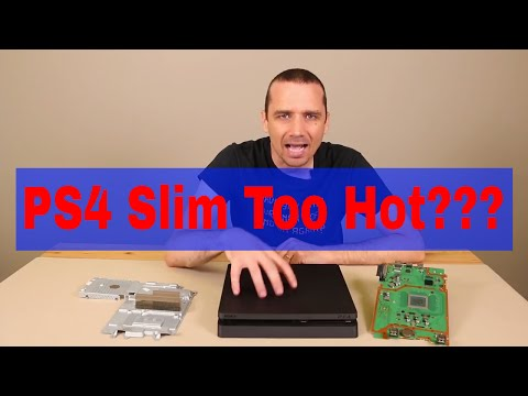 PS4 Slim Too Hot? - Overheating Explained - Prevent Overheating