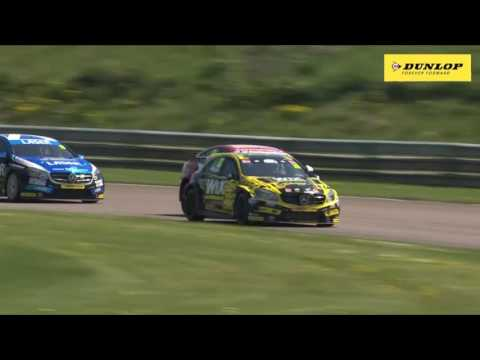 Pre-Knockhill catch up with Aiden Moffat - Laser Tools Racing