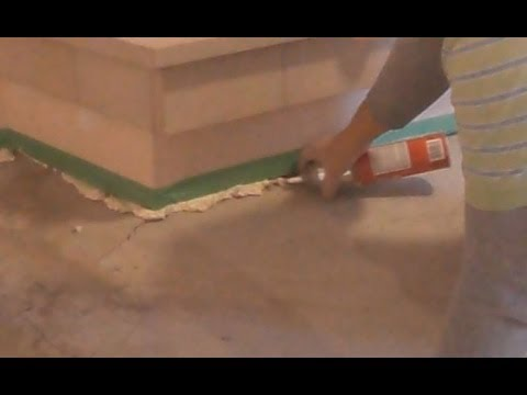 Concrete Floor Crack Repair before Putting Self Leveling Floor Compound: How To Mryoucandoityourself