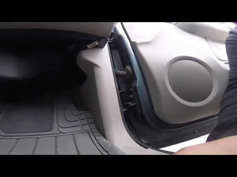 2007-2014 Chevy Silverado Suburban door hinge roller pin install