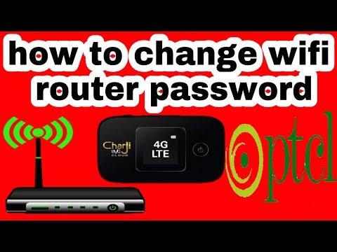 how to change ptcl charji wifi passward in urdu